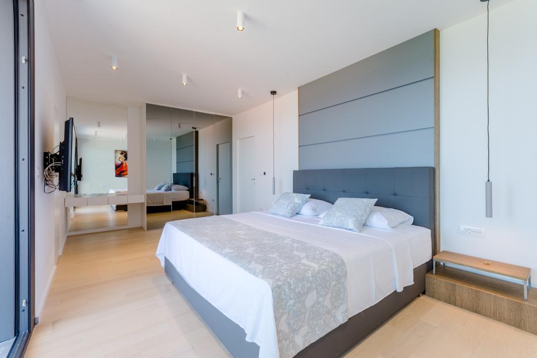 A large modern bedroom