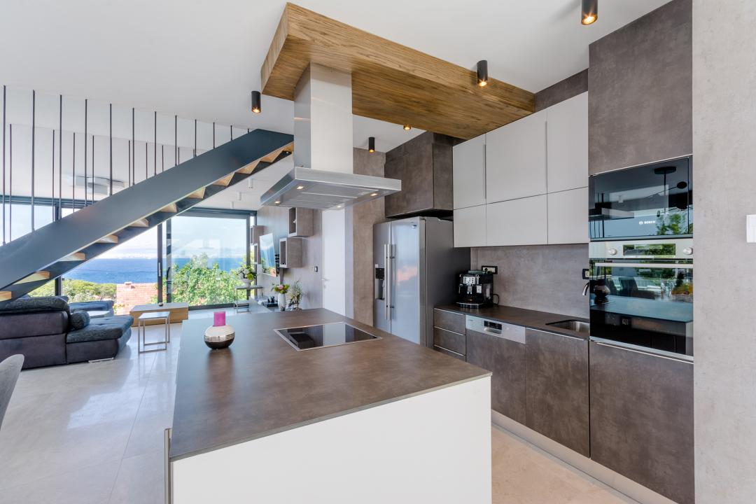 A modern-looking kitchen